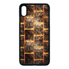 Wallpaper Iron Iphone Xs Max Seamless Case (black)