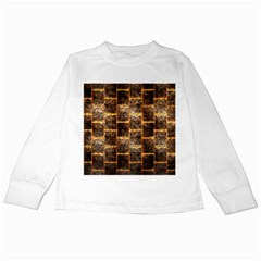 Wallpaper Iron Kids Long Sleeve T Shirts by HermanTelo