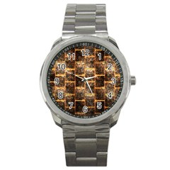Wallpaper Iron Sport Metal Watch by HermanTelo
