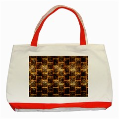 Wallpaper Iron Classic Tote Bag (red) by HermanTelo