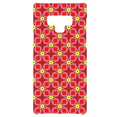 Red Yellow Pattern Design Samsung Note 9 Black Uv Print Case  by Alisyart