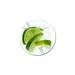 Lime Club Soda Drink Cocktail Golf Ball Marker (10 Pack) by Pakrebo