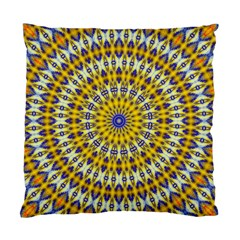 Fractal Kaleidoscope Mandala Standard Cushion Case (one Side)