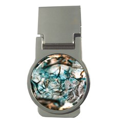 Water Forest Reflections Reflection Money Clips (round)