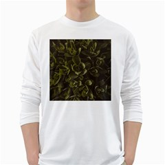 Green Leafy Plant Long Sleeve T Shirt