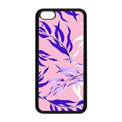 Floral Boho Watercolor Pattern Iphone 5c Seamless Case (black) by tarastyle