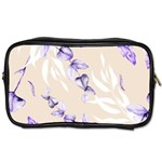 Floral Boho Watercolor Pattern Toiletries Bag (Two Sides) Front