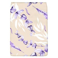 Floral Boho Watercolor Pattern Removable Flap Cover (l)