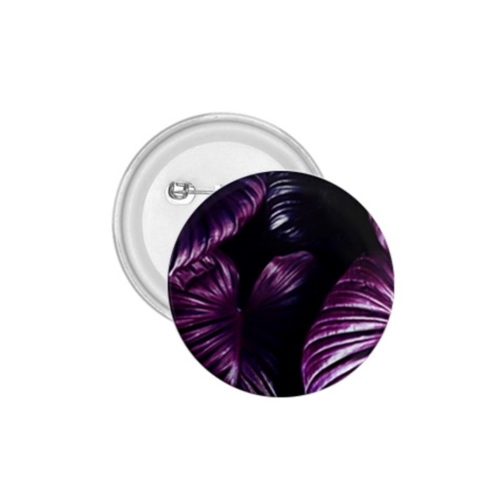 Purple Leaves 1.75  Buttons
