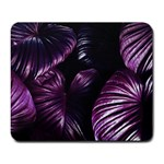 Purple Leaves Large Mousepads Front