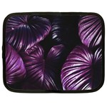 Purple Leaves Netbook Case (XXL) Front