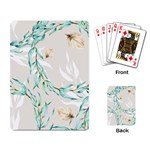 Floral Boho Watercolor Pattern Playing Cards Single Design (Rectangle) Back