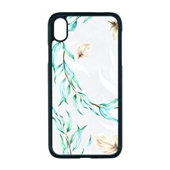 Floral Boho Watercolor Pattern Iphone Xr Seamless Case (black) by tarastyle