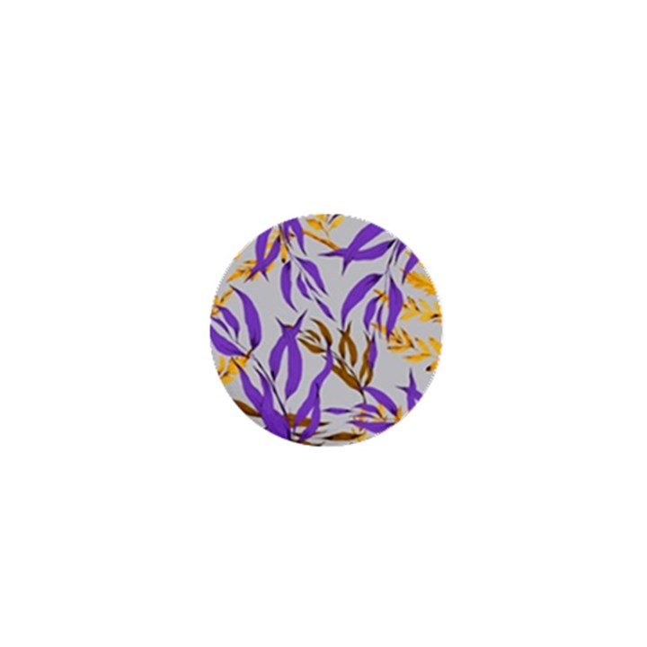 Floral Boho Watercolor Pattern 1  Mini Magnets