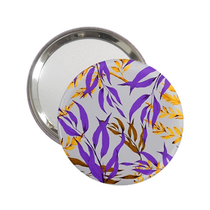Floral Boho Watercolor Pattern 2.25  Handbag Mirrors