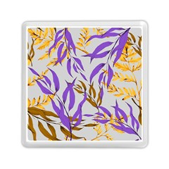 Floral Boho Watercolor Pattern Memory Card Reader (square)