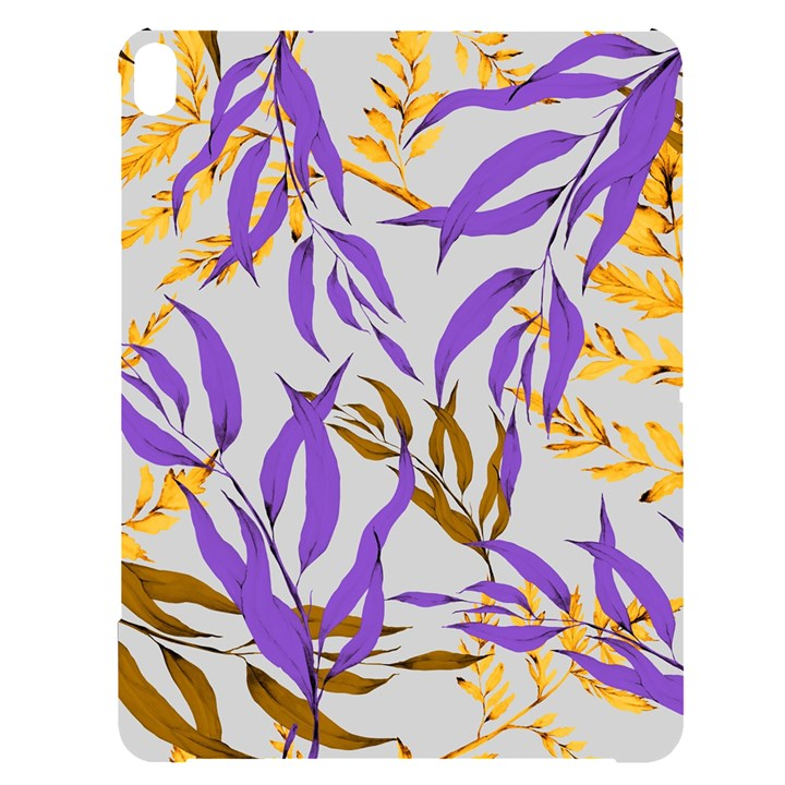 Floral Boho Watercolor Pattern Apple iPad Pro 12.9   Black UV Print Case