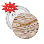 Brown And Yellow Abstract Painting 2.25  Buttons (10 pack)  Front