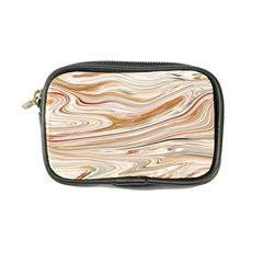 Brown And Yellow Abstract Painting Coin Purse