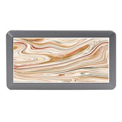 Brown And Yellow Abstract Painting Memory Card Reader (mini) by Pakrebo