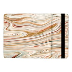 Brown And Yellow Abstract Painting Samsung Galaxy Tab Pro 10 1  Flip Case by Pakrebo