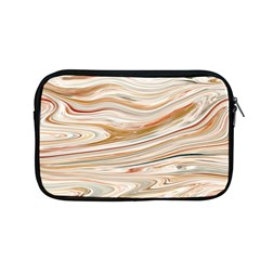 Brown And Yellow Abstract Painting Apple Macbook Pro 13  Zipper Case
