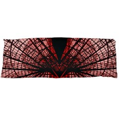 Low Angle Photography Of Red Metal Tower Body Pillow Case Dakimakura (two Sides)