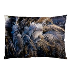 Dried Leafed Plants Pillow Case (two Sides)