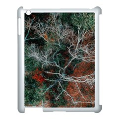 Aerial Photography Of Green Leafed Tree Apple Ipad 3/4 Case (white)