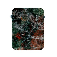 Aerial Photography Of Green Leafed Tree Apple Ipad 2/3/4 Protective Soft Cases