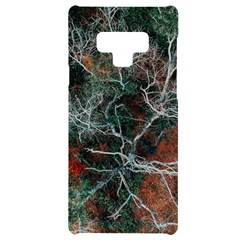 Aerial Photography Of Green Leafed Tree Samsung Note 9 Black Uv Print Case
