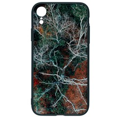 Aerial Photography Of Green Leafed Tree Iphone Xr Soft Bumper Uv Case