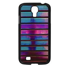 Blue And Pink Wallpaper Samsung Galaxy S4 I9500/ I9505 Case (black)
