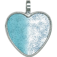 Spetters Stains Paint Heart Necklace by HermanTelo