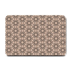Texture Tissue Seamless Plaid Small Doormat  by HermanTelo