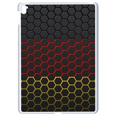 Germany Flag Hexagon Apple Ipad Pro 9 7   White Seamless Case