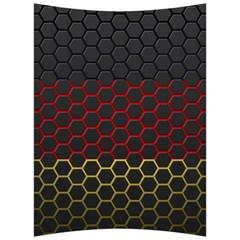 Germany Flag Hexagon Back Support Cushion