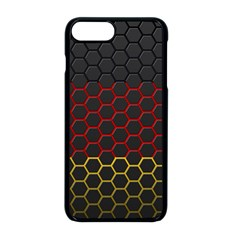Germany Flag Hexagon Iphone 8 Plus Seamless Case (black)