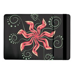Flower Abstract Samsung Galaxy Tab Pro 10 1  Flip Case by HermanTelo