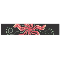 Flower Abstract Large Flano Scarf  by HermanTelo