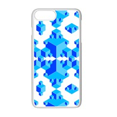 Cubes Abstract Wallpapers Iphone 7 Plus Seamless Case (white)