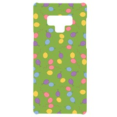 Balloon Grass Party Green Purple Samsung Note 9 Black Uv Print Case  by HermanTelo