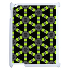 Backgrounds Green Grey Lines Apple Ipad 2 Case (white)