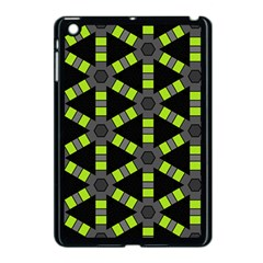 Backgrounds Green Grey Lines Apple Ipad Mini Case (black)