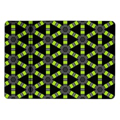 Backgrounds Green Grey Lines Samsung Galaxy Tab 10 1  P7500 Flip Case