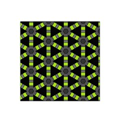 Backgrounds Green Grey Lines Satin Bandana Scarf