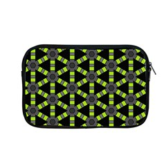 Backgrounds Green Grey Lines Apple Macbook Pro 13  Zipper Case