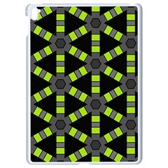 Backgrounds Green Grey Lines Apple Ipad Pro 9 7   White Seamless Case