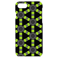 Backgrounds Green Grey Lines Iphone 7/8 Black Uv Print Case
