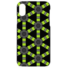 Backgrounds Green Grey Lines Iphone Xr Black Uv Print Case